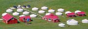 大草原の国・モンゴル!弊社直営ツーリストキャンプにてゲル宿泊体験をしませんか